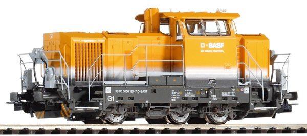 """Piko 52656  Diesel locomotive Vossloh G6 """"BASF"""""""