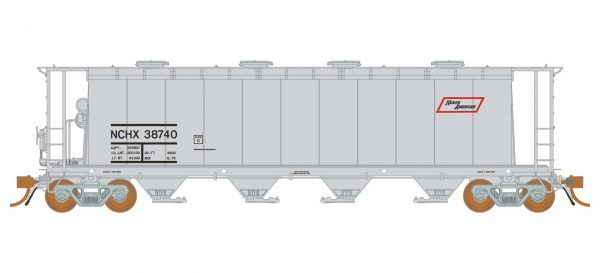 Rapido Trains   3800 cu. ft. Covered Hopper NCHX North American #38740