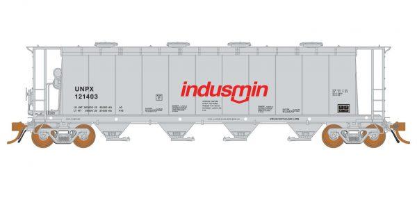 Rapido Trains 127020-1   3800 cu. ft. Covered Hopper UNPX Procor Indusmin