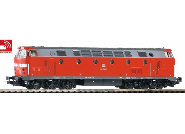 Piko 59938  Diesel locomotive BR 219, DB AG (DCC w/Sound)