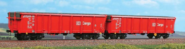ACME 45018  2 piece set:  Sliding roof gondolas, DB AG Cargo