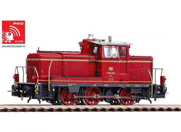 Piko 52828  Diesel locomotive V60, DB (DCC w/Sound)