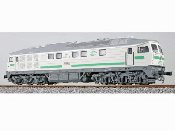 ESU 31167  Diesel Locomotive W 232-09, ITL (Digital Sound+Smoke, DC/AC)