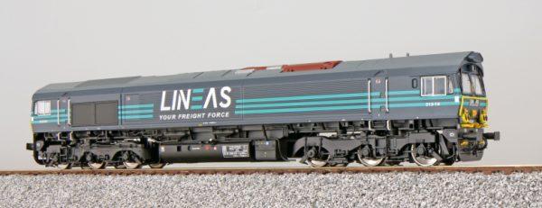 ESU 31283  Diesel Locomotive 513-10, LINEAS (Digital Sound+Smoke, DC/AC)