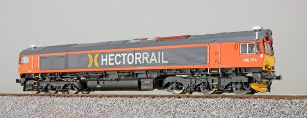 ESU 31284  Diesel Locomotive T66 713, HECTORRAIL (Digital Sound+Smoke, DC/AC)