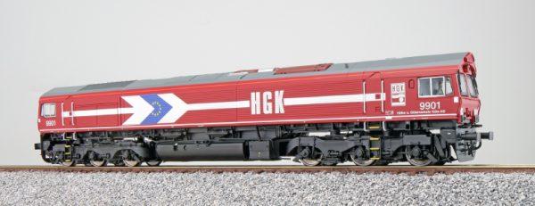 ESU 31288  Diesel Locomotive 9901, HGK (Digital Sound+Smoke, DC/AC)