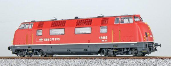 ESU 31332  Diesel Locomotive Am 4/4, SBB (Digital Sound+Smoke, DC/AC)