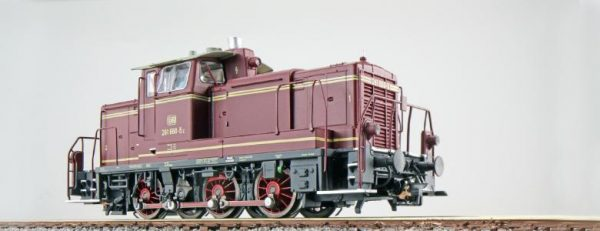 ESU 31417  Diesel Locomotive 261, DB (Digital Sound+Smoke, DC/AC)