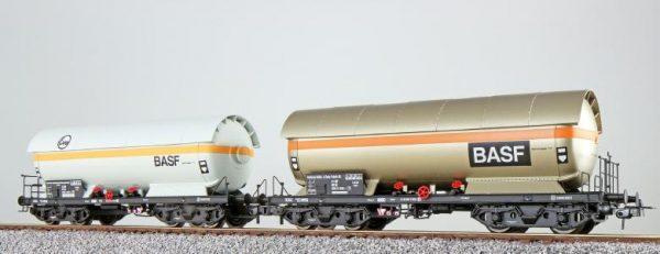 ESU 36523  LPG tank car set, EVA + BASF, DB