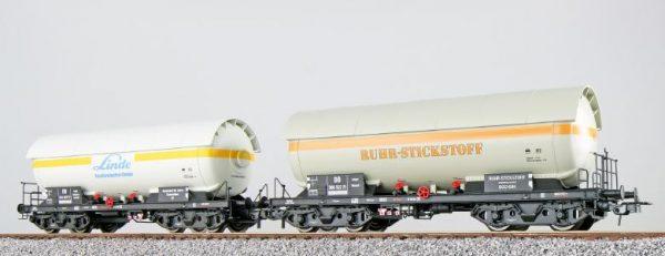 ESU 36524  LPG tank car set, LINDE + NITROGEN, DB