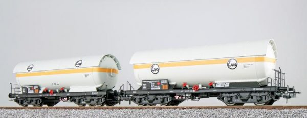 ESU 36528  2-Car LPG tank set, EVA + EVA, DB