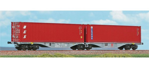 ACME 40357   Container Wagon Type Sggrss 80', ERMEWA