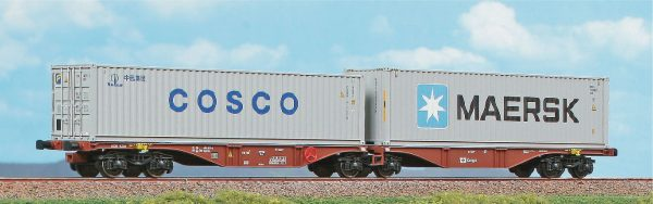 ACME 40364   Container Wagon Type Sggrss 80', CD Cargo
