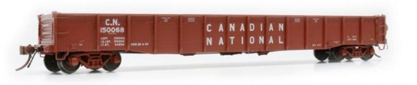 "Rapido Trains  52' 6"" Mill Gondola Canadian National  #150178"