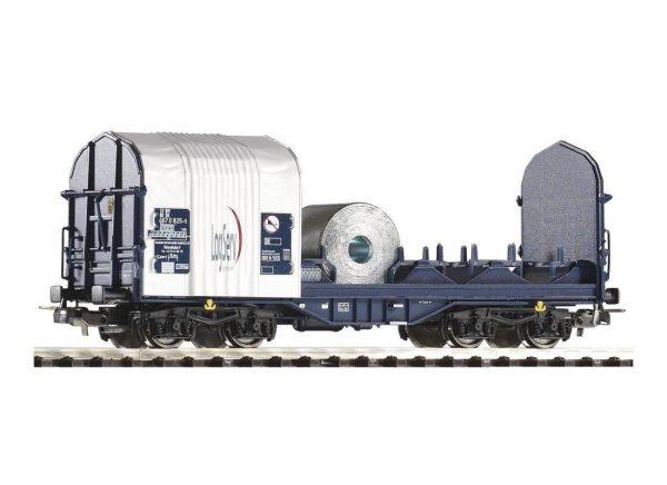 """Piko 54396  Open Sliding Tarp Wagon """"LogServ"""""""