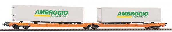 Piko 54779  T3000e Articulated pocket wagon, WASCOSA