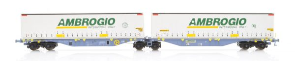 B-Models 59301  Container Cars Sggmrss 90', AMBROGIO