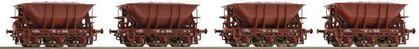 Roco 67075  4 piece set ore wagons, SJ