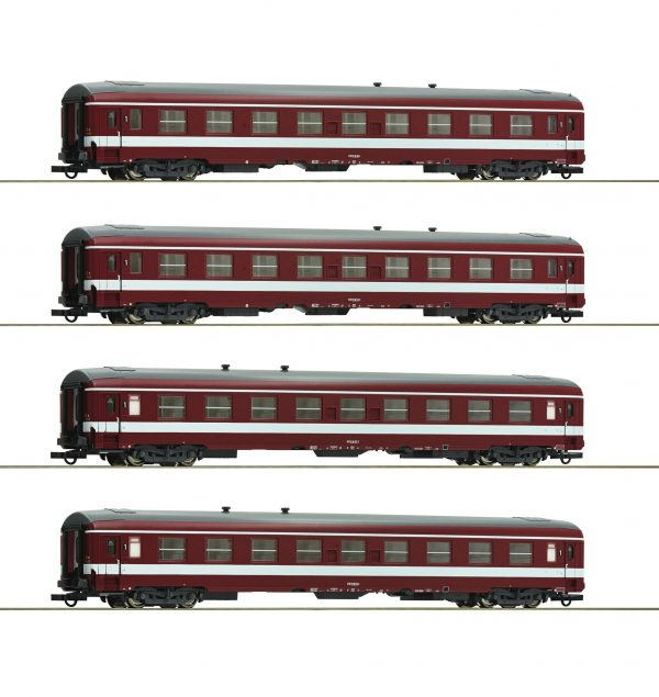 "Roco 74109  4 piece set 1: Coaches ""Le Capitole"", SNCF"