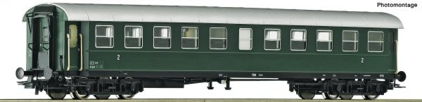 "Roco 74446  2nd class ribbed car ""Spantenwagen"", ÖBB"