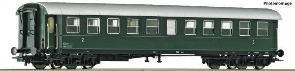 "Roco 74446  2nd class ribbed car ""Spantenwagen"", ÖBB"