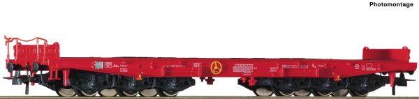 Roco 76825  Heavy duty flat wagon, DB AG