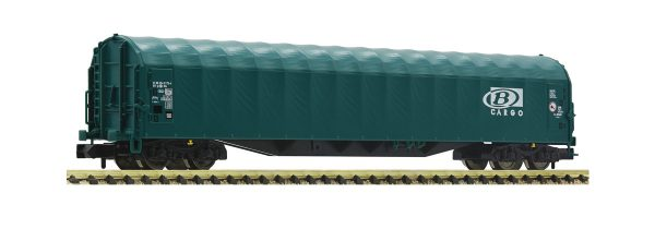 Fleischmann 837701  Sliding tarpaulin wagon, SNCB
