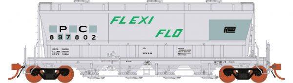 Rapido Trains  ACF PD3500 Flexi Flo: PC Ex-NYC Patchout 941H #897815