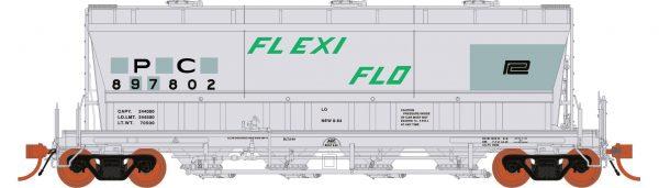 Rapido Trains  ACF PD3500 Flexi Flo: PC Ex-NYC Patchout 941H #897823