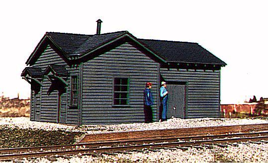 "American Model Builders 124  Illinois Central Type ""B"" Depot"