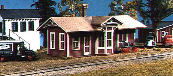 American Model Builders 138  Springfield Depot