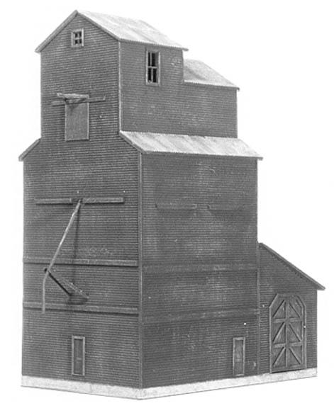 American Model Builders 610  Country Grain Elevator