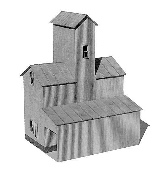 American Model Builders 621  Silex Grain Elevator