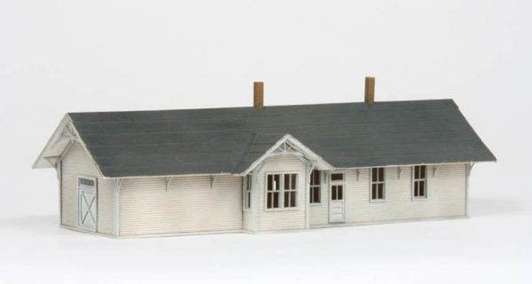 American Model Builders 627  Union Pacific One Story Depot