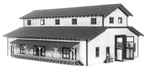 American Model Builders 704  Transfer Building