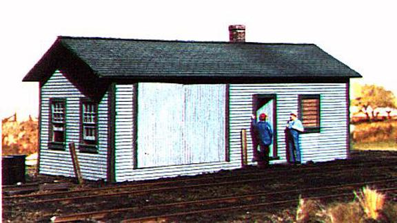 American Model Builders 118  Railroad Supply Building