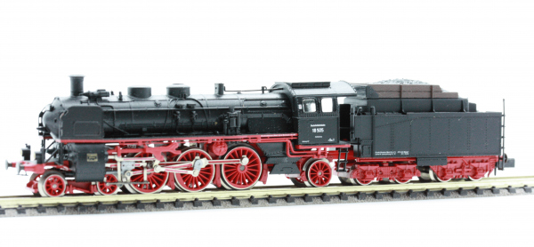 Arnold 2542  Steam locomotive of the DRG, Class 18 with tender