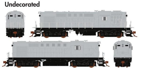 Rapido Trains  MLW RS-18 Undecorated