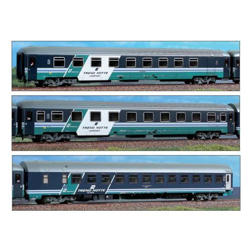 """ACME 55146  InterCity 3 couchette set """"TRENO Notte COMFORT"""" Trenitalia, FS"""