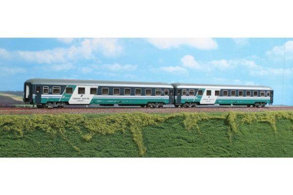 """ACME 55175  InterCity couchette set """"TRENO NOTTE COMFORT"""" Trenitalia, FS"""