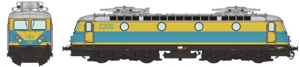B-Models  VB3304.04  Electric locomotive class 22, SNCB  (AC Digital w/Sound)
