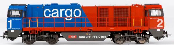 B-Models 3027.03  Diesel Locomotive G2000, SBB Cargo (DCC w/Sound)