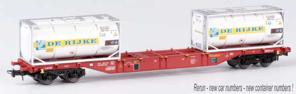 B-Models 54104  Touax Container Wagon