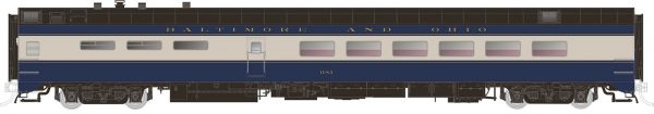 Rapido Trains  Baltimore & Ohio Pullman-Standard Lightweight Dining Car