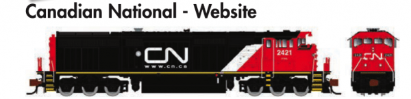 Rapido Trains GE Dash 8-40CM Canadian National - Website