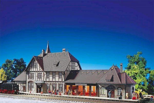"""Faller 116  Train Station """"SCHWARZBURG"""""""