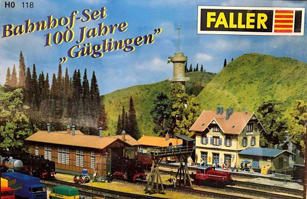"""Faller 118  100 Years """"GÜGLINGEN"""" Railway Station Set"""