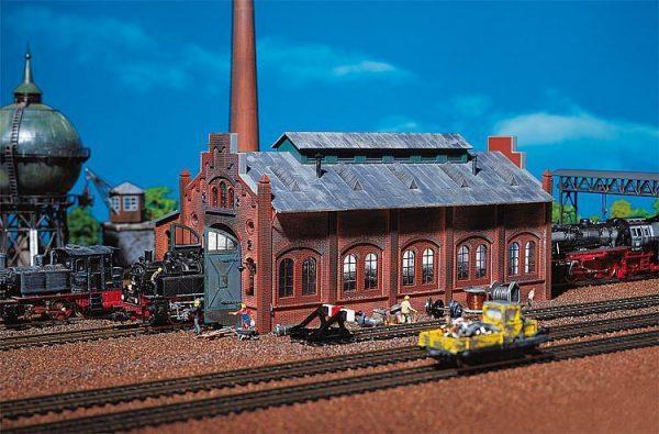 Faller 2142  Locomotive Repair Shed