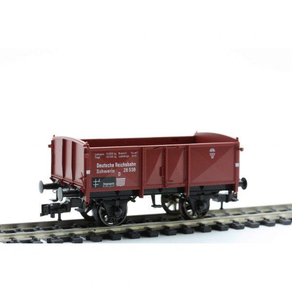 "Fleischmann 5211 Open goods wagon, type O (""Schwerin""), DRG"