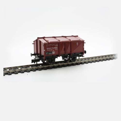 """Fleischmann 5213 Lidded goods wagon, type K """"WUPPERTAL"""", DRG"""